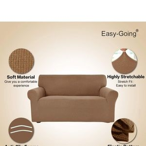 22 x 24 easy-going stretch the cover loveseat
